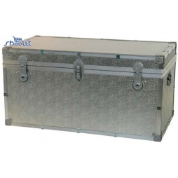Riolfo - Aluminum Reinforced Trunk -120X55X55 cm- Made in Italy