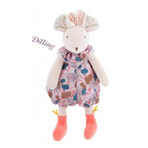 Moulin Roty - Rattle for Infants - Mouse Lala
