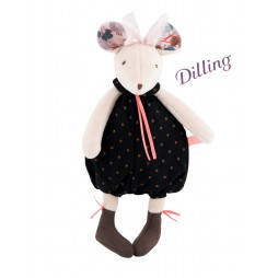 Moulin Roty - Rattle for Infants - Sissi the Mouse