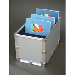 """Riolfo"" Aluminum Catalog Holder"