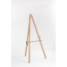 Lyre Easel oiled Beechwood Height 115 cm Made in Italy