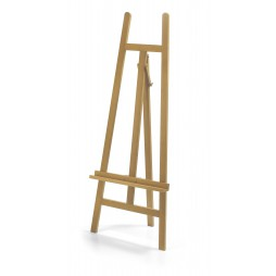 Lyre Exhibition Easel 150 cm height Made in Italy