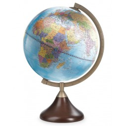 Table Globe - Coronelli - Light Blue-Made in Italy