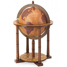 Bar -Globe globe - Gemini Map-Made in Italy