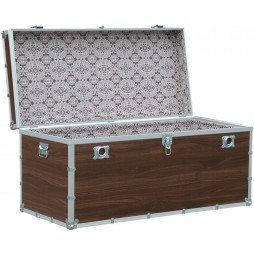 Riolfo - Wooden Trunk 120x55x55 cm Made in Italy
